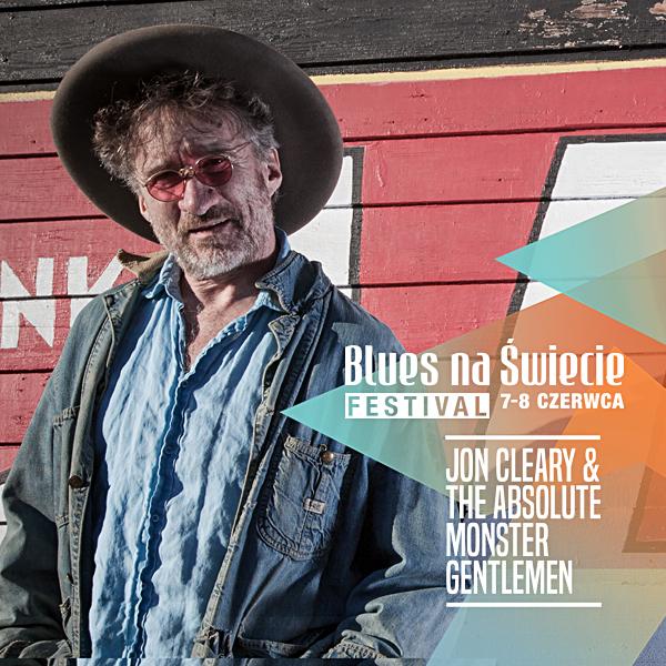 Jon Cleary wystąpi 8 czerwca na Blues na Świecie Festival