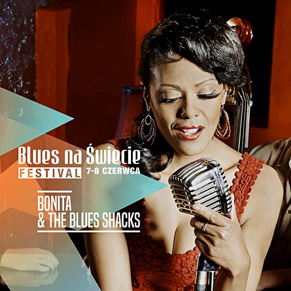 Bonita & The Blues Shacks, koncert na Blues na Świecie Festival, 8 czerwca 2019, Świecie nad Wisłą